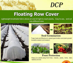 Warm Worth Floating Row Cover And Plant Blanket,seed Germination 0.9oz Antifreeze