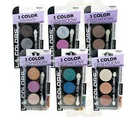 L.A. Colors 3 Color Eyeshadow Multidimensional 5.5g CHOOSE YOUR SHADE