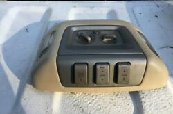 2004 Lincoln Navigator Roof Console Lamps Climate Liftgate Sunroof Controls OEM