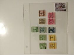 12 Rare Stamps Collection New York Postmarked 9/11 Heroes Collectable