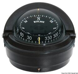 Ritchie Voyager External Compass 3 Inches Black/black