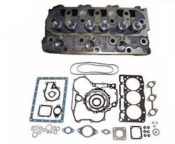 New Complete Cylinder Head And Full Gasket Kit Fits Kubota D905