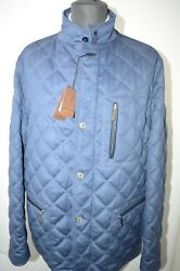 NEW 10500,00 $ STEFANO RICCI Outwear Quilted Coat  Us M Eu 50 G105