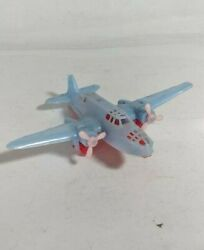 Vintage Special Plastic Redandblue Small Airplane Toy Collectible