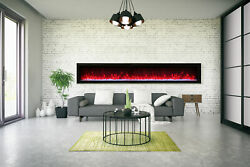 Amantii Symmetry Sym-100-b Modern 100andprime Basic Built-in Electric Fireplace