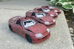 Handmade Brianand039s Fast And Furious Crashed Toyota Supra 124 1/24 Scale.read Desc