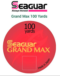 Seaguar Grand Max Fluorocarbon 100yds Leader Line Riverge Fly Fishing Tippet