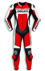 Ducati dainese Corse C4 Leather Suit Estate One Piece Red New 2019