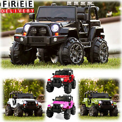 Battery Powered Jeep 12v Toddler Ride On Toys Remote Control Kid Child Vehicle