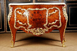Castle-Worthy French Dresser in Louis Quinze Style with Marble Plate