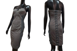 ❤️jean Paul Gaultier Vintage Iconic Sexy Cups Corset Bustier Bodycon Dress