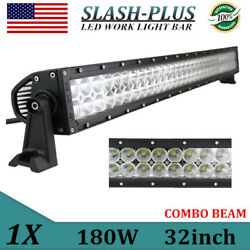 32 Inch 180w Led Light Combo Offroad Car Driving Lamp Truck Ford Dodge Ram Ute