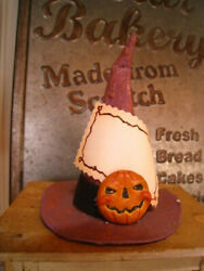 Scott Smith Rucus Studio Witch Hat Candycontainer Bethany Lowe Halloween Retired