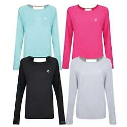 Womens Loose Fitting Top Gym Running Sport Winter Jumper Sweater Jersey Riposte