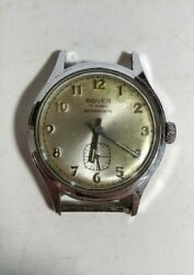 Vintage Rover 17 Rubis Antimagnetic Watch Collectible Working