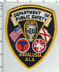 Andalusia Department Of Public Safety Alabama 1st Issue Shoulder Patch