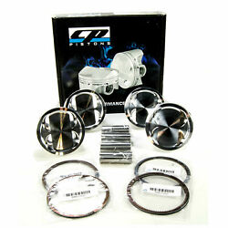 Cp Forged Pistons For Toyota 7mgte Supra Mk3 Bore 84mm +1.00mm 8.41 Cr Sc7470