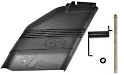 New 42 Mower Deck Deflector Shield 532130968 W/mounting Hardware For Craftsman