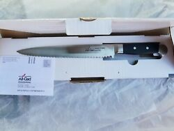 All-clad Precision Cutlery 9 Serrated Bread Knife  - Free Shipping -