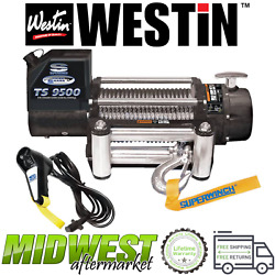 Westin Superwinch Tiger Shark 9500 Wire Rope Electric Winch Universal Fitment