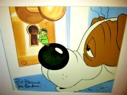 Hanna Barbera Animation Cel Inch Eye Private Eye Rare Super 70and039s Signed Art Cell