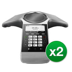 Yealink Cp920 Conference Phone W/ Built-in 3-mic. Array 2 Pack
