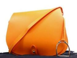 Orange Leather Stirrup Equestrian Saddle Cross Body 235766