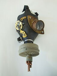 Steampunk Gas Mask Art Andndash To Hell And Back - Costume Or Display Andndash Sz 1 Adult 2