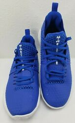 Under Armour Mens Ua Drive 4 Low Basketball Shoes Blue 3000086 106 Size 6.5