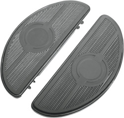 Drag Specialties Half-moon Floorboards Without Vibration Inserts 1621-0165