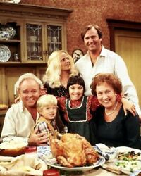 All In The Family 8x10 Photo Movies Tv Cast Archie Bunker Edith Meat Head Pictur