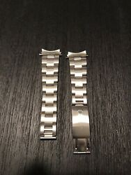 19 Mm Rolex Oster Band Clasp 78350 End Piece 557