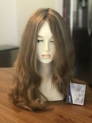 Claryand039s Wigs Smooth River 100 Virgin European Human Hair Wig Closed Wefted