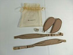 Third Love Beige Nude Replacement Straps and Cup Inserts