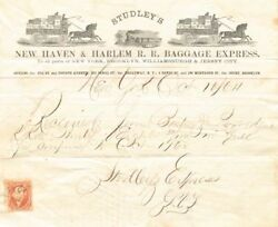 Studley's New Haven And Harlem R. R. Baggage Express