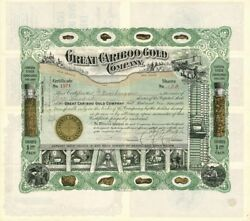 Great Cariboo Gold Company - Stock Certificate
