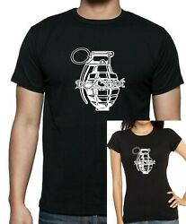 Borderlands Inspired Unholy Handgrenade T-shirt. Unisex Or Womenand039s Fitted Tee