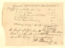Connecticut - Pay Order For General Assembly