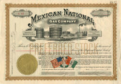 Mexican National Gas Company - Signed As President By Edward L. Doheny