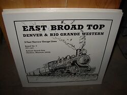 Railroad Record Club 3 East Broad Top Sound Sealed New