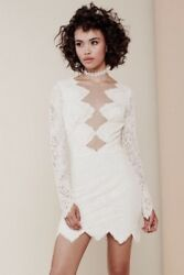 For Love And Lemons Mini White Lace Dress Free Romantic People Noir And Victorian