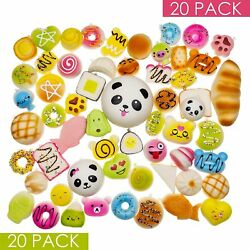 Squishys Kawaii 20pc Large Food Squish Rising Squishes Squishable Toys Lot