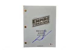 George Lucas Signed Signed Star Wars The Empire Strikes Back Script Beckett D