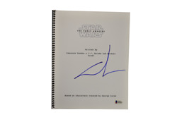 George Lucas Signed Signed Star Wars The Force Awakens Script Beckett Loa A