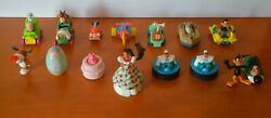 Mixed Lot Of 15 Vintage 1990s Giveaway Toys, Various Characters, Design + Sizes