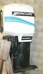 Mercury 275hp V6 3.4l Outboard Motor Powerhead Oem 19398a93 Midsection