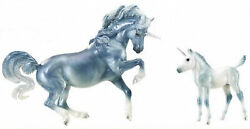 Breyer Horses quot;Cascade and Caspianquot; Unicorn Mare and Foal Traditional Size