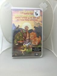 The Land Before Time Vhs. Thr Great Valley Adventure. Universal Home Video