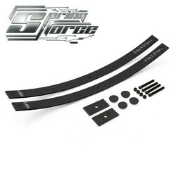 2 Rear Lift Level Kit For 88-99 Gmc K1500 Steel Long Add-a-leaf With Shims 4x4