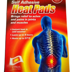 Self Adhesive Pain Ache Relief Heat Pad Hot Pad Heat Patch Heat Pack Hot Therapy